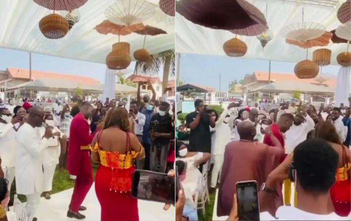 VIDEO: Joe Mettle Flaws His Wife In A Dance Competition During Their Marriage Ceremony