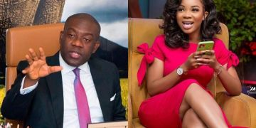 VIDEO: Smart Kojo Oppong Nkrumah Capitalizes On Serwaa Amihere's 'Dumbness' And Humiliates Her On Live Television