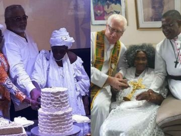 Mother Of Former J.J Rawlings Turns 101 Years Old Today- Photos From Her Birthday Celebration