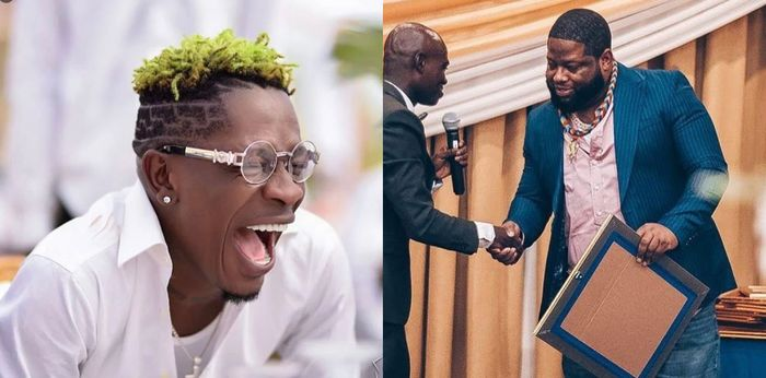 Shatta Wale Says D-Black Paid Ghc5000 Only To Get 'Feeding Bottle' And 'Plywood' As An Award