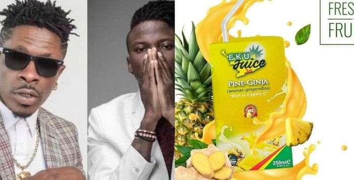 Stonebwoy And Shatta Wale Begs Government To Make Them Ambassadors Of Ekumfi Juice