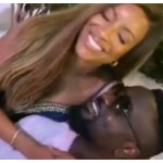Joselyn Dumas Was All Over Sarkodie During Her Birthday Celebration