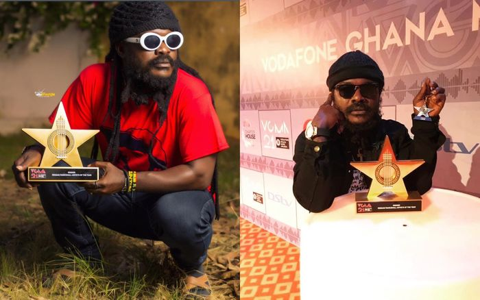 VIDEO: Ras Kuuku Might've Left His VGMA Plaque At A Ghetto After Smoking Rolls Of Weed