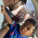 Photo: Drama As Fan Asked Fameye To Go For DNA Test To Prove He Is The Father Of His Son