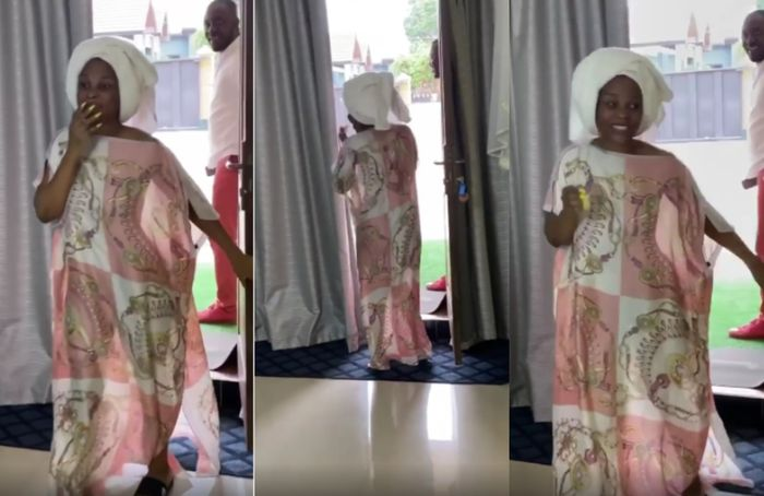 VIDEO: The Very Awkward Moment Benedicta Gafah Came Out Pantless And Braless To Receive A Surprise Birthday Cake From Zylofon Media