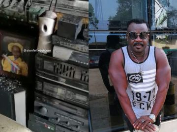 JUST IN: Koo Fori's House Razed By Fire - VIDEO