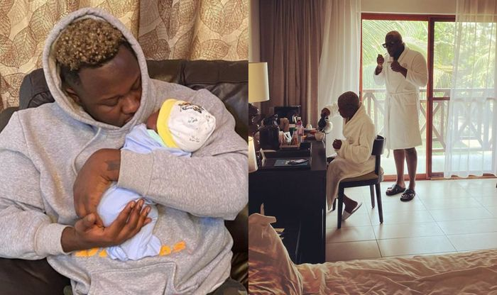 Medikal And Fella Makafui Drags Their 1-month-old Baby, Island, Into Their Social Media Drama