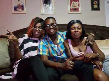 A Pandemic In One Picture - Here's A Throwback Picture Of Mzbel, Afia Schwar, And Nana Tonardo