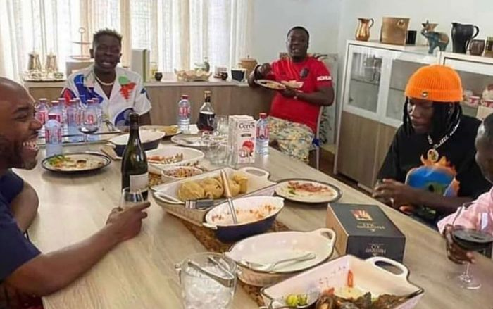 PHOTO: Shatta Wale And Stonebwoy Had Lunch After Throwing Shades At Each Other During Asaase Soundclash