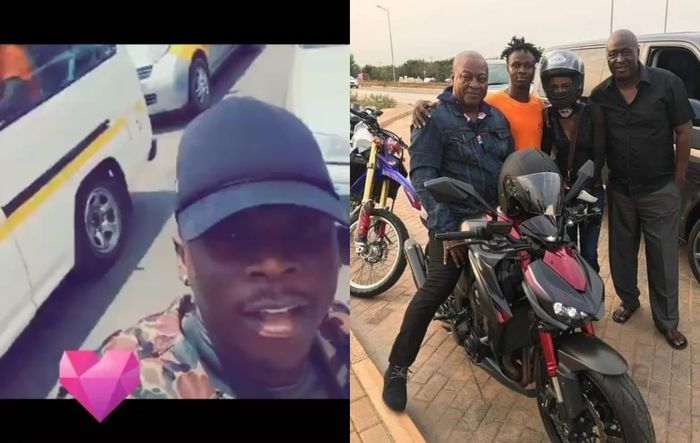 VIDEO: Stonebwoy Swiftly Distances Himself From A Viral Video Of Him Riding And Endorsing The Use Of Okada