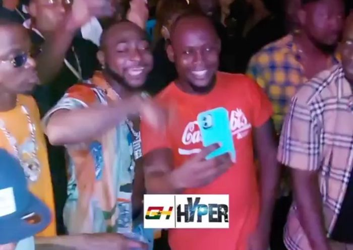 Davido Gets Furious And Smashes Phone Of A Fan Who Wanted To Take Selfie With Him