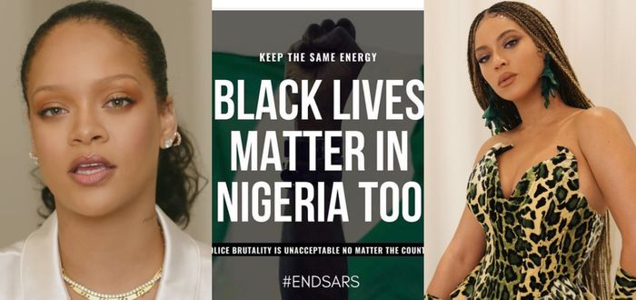 #EndSARS: Beyonce, Rihanna, Nicki Minaj, Hilary Clinton And Others React To Police Brutality In Nigeria