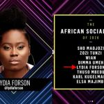 "Lydia Forson Is First Ghanaian To Be Nominated For E! People's Choice Awards In The Category ""Africa Social Star�"