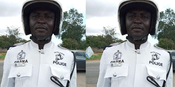 Ghanaian Police Officer Sgt. Ibrahim Yakubu Receives Praises For His Good Works