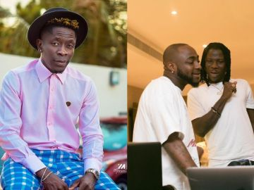 Jealous Shatta Wale Probably Wishes To Link Up And Vibe With Davido But In His Dreams