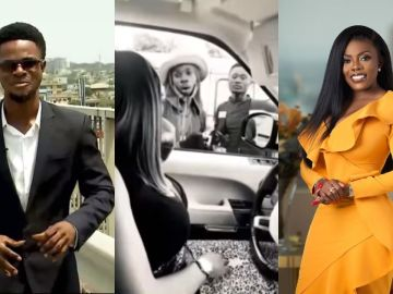 VIDEO: A Street Hawker Is Now A Journalist And Employed At Agoo TV - All Thanks To Nana Aba Anamoah