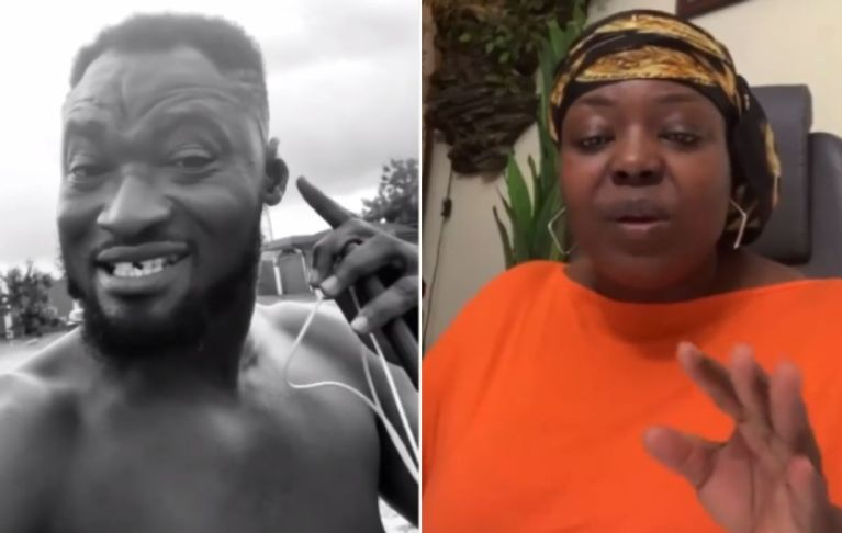 Maame Yeboah Asiedu Finally Speaks On Funny Face's Allegations That She Pimps Young Ladies To Rich Old Men