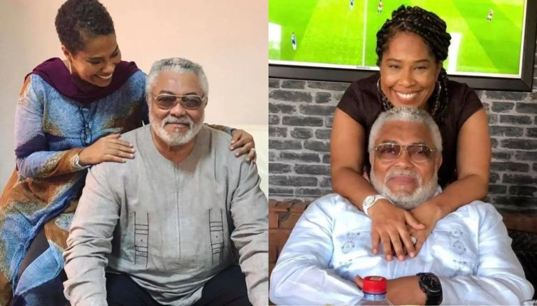 Here Are Photos Of Jerry John Rawlings And Hos Alleged Baby Mama Having A Nice Time Together