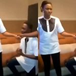 VIDEO: Nigerian Prayer Warrior Proposes To His Girlfriend In The Middle Of Heated Prayer Session