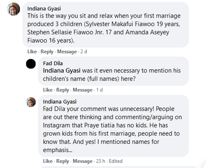 Woman Claims Prayetietia Has 3 Kids With Another Woman That's Why He's Not Bothered About Selly Galley's Inability To Give Birth