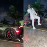PHOTOS: Sarkodie Pulled Up In A Monster Sports Car At The Launch Of Malta Guinness Edition
