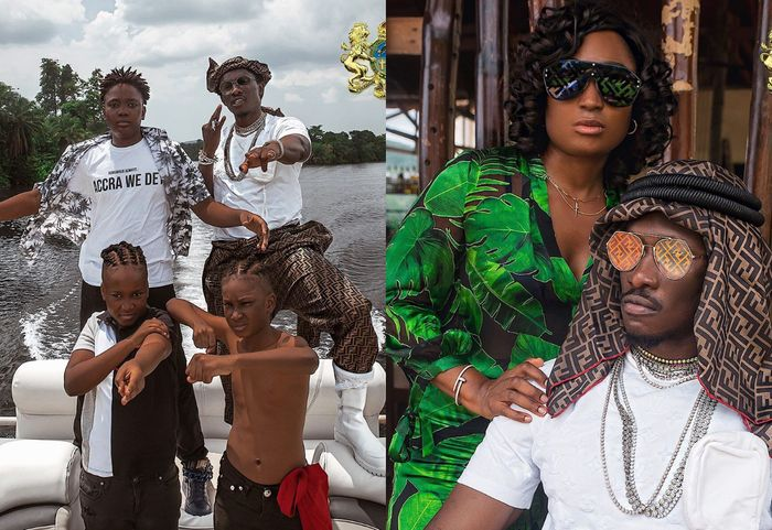 PHOTOS: Young Ghanaian Millionaire, Jacob Caesar, Takes His Family On An Expensive Vacation