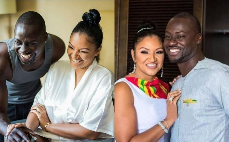 VIDEO: Actor Chris Attoh Wishes His Late Wife, Bettie Jenifer, On Her Birthday