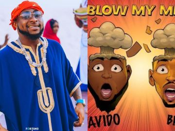 Davido Is Over The Moon After His Song Appeared On Chris Brown's List Of 35 Best Videos