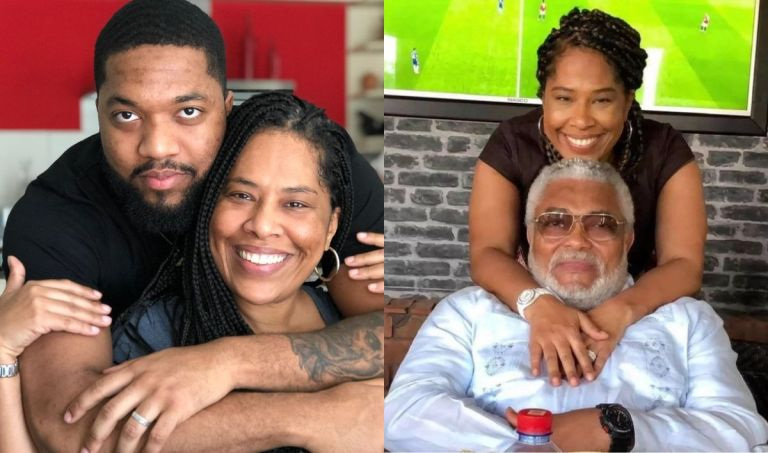 Check Out Photos Of Jerry Rawlings' Son With Alleged Baby Mama, Nathalie Yamb