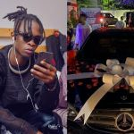 PHOTOS: BBNaija20's Winner, Laycon's Fans Gift Him A Brand New Mercedes Benz E350 On His 27th Birthday