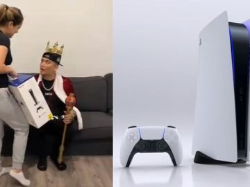 VIDEO: Man Shed Tears After His Girlfriend Surprised Him With Playstation 5