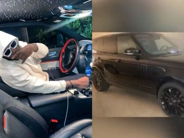 VIDEO: Medikal Has Bought A Brand New Range Rover Autobiography But We Doubt He Got It With Music Money