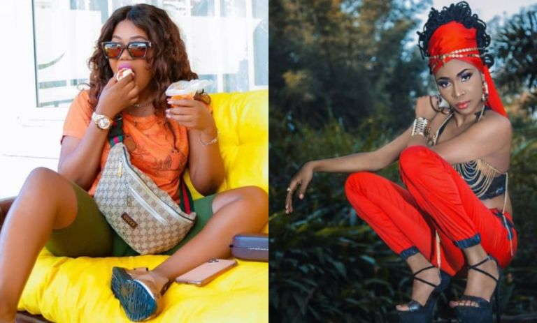 VIDEO: Mzbel Calls AK Songstress A Thieve For Stealing Her Song