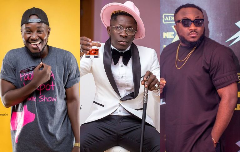 VIDEO: Shatta Wale Chooses Comedian OB Amponsah Over DKB - Says DKB Is Not Funny