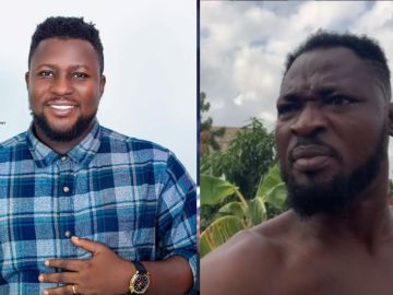 VIDEO: Funny Face Threatens To Kill Popular Blogger For Interviewing His Estranged Baby Mama