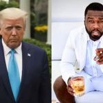 US Election: 50 Cent Trolls President Donald Trump - Says He's Going To Jail