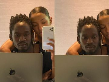 Mr Eazi's Expensive Laptop Has Been Stolen In Accra - Places A Bounty On Whoever Finds It