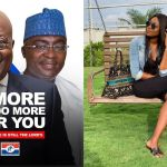 Yvonne Nelson Subtly Says President Akufo-Addo And NPP Are Chopping Ghana's Money Stylishly
