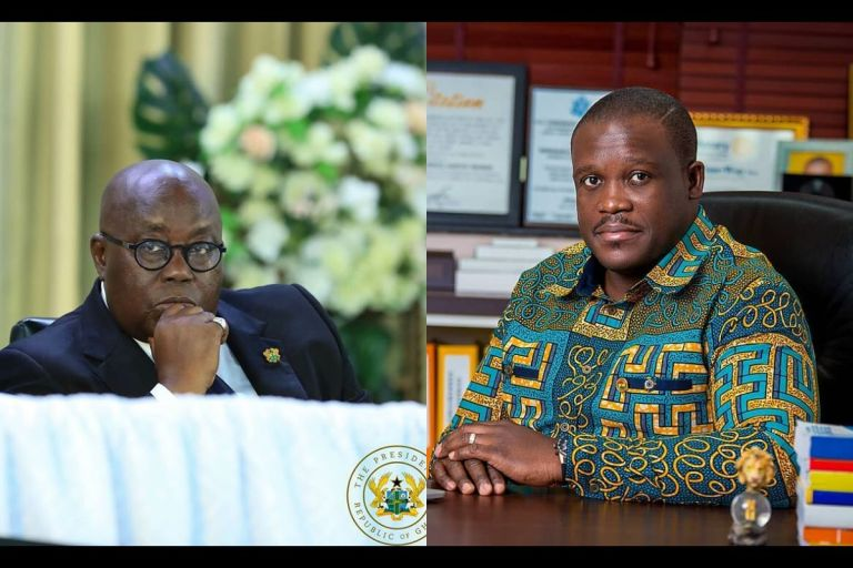 MP For Ningo Prampram, Sam George, Tags President Akufo-Addo As 'Election Thieve' As The NDC Prepares To Head To Court