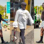 PHOTOS: Nana Aba Anamoah's Baby Daddy, Osebo, Proudly Steps Out With Ladies Handbag