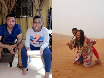 Juliet Ibrahim And Her Ex-husband, Kwadwo Saf Jnr, Celebrate Their Son's 10th Birthday