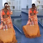 VIDEOS: Slay Queen Lawyer, Sandra Ankobiah, Puts Her Heaped Front Goodies On Display While Vacationing In Mexico