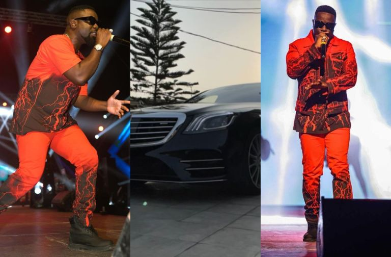 VIDEO: Sarkodie Flaunts Brand New Unregistered Mercedes Benz After A Successful 2020 Rapperholic Concert