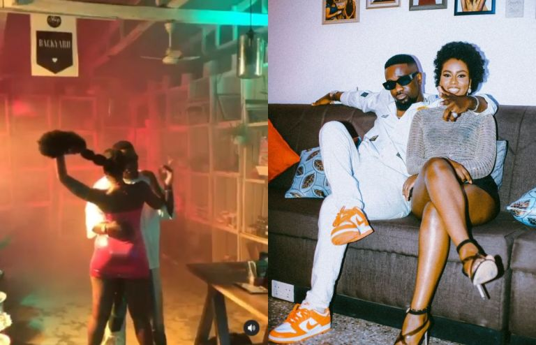 Sarkodie, After Grinding MzVee, Says She's One Of Ghana's Most Valuable Assets