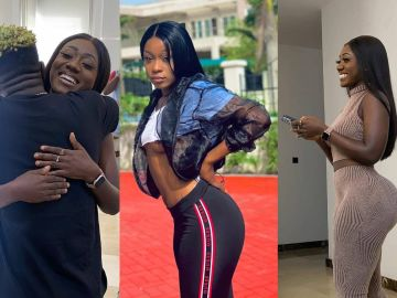 Efia Odo Says She's Going For A Butt Enlargement Surgery After Her Bestie, Shatta Wale, Went Crazy Over Hajia Bintu's Big Backside