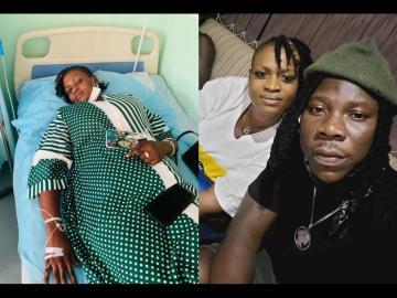 Stonebwoy's 'Loyal Fan', Ayisha Modi, Hospitalized
