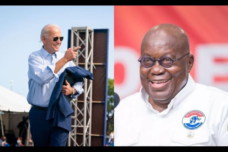 US President-elect, Joe Biden, Apologizes To Akufo-Addo For Not Connecting With Him On Phone