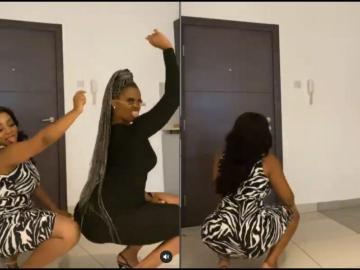 VIDEO: Lydia Forson, Sandra Ankobiah, Dblack aka Sushi React To Moesha Buduong's Buss It Challenge