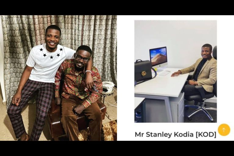 Nana Appiah Mensah's 'Partner', Stanley Mensah Kodia, Arrested For Fraud