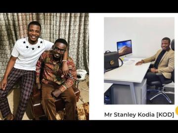 Nana Appiah Mensah's 'Partner', Stanley Mensah Kodia, Arrested For Fraud